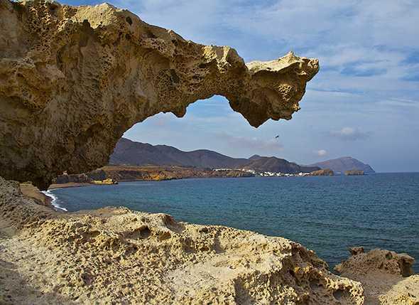 Itinerario de Montañismo por el Parque Natural de Cabo de Gata: Los Escullos-San José