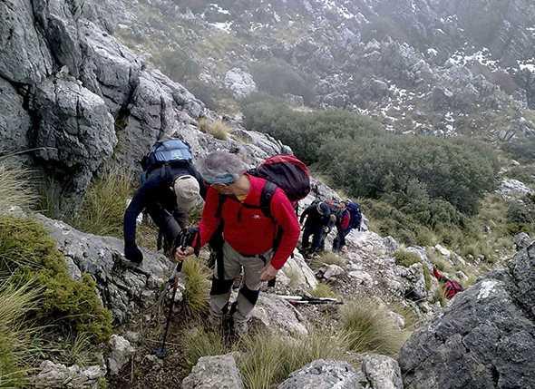 El Grupo de Montaña CASA organiza la I Travesía Infantil Juvenil de Cádiz