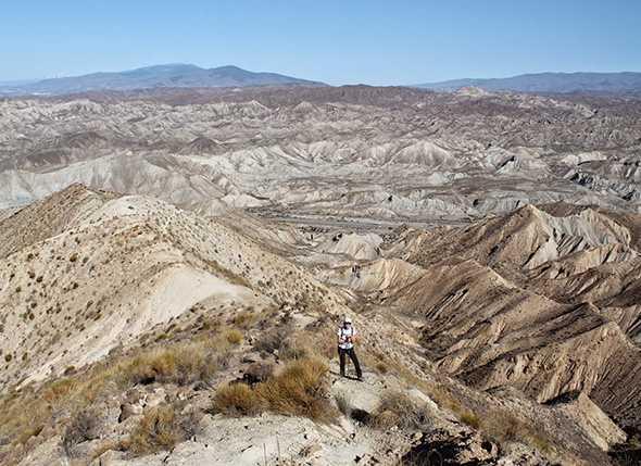 Subida al Pico Alfaro (Sierra Alhamilla)