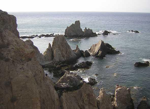 Espectaculares vistas del Parque Natural Cabo de Gata