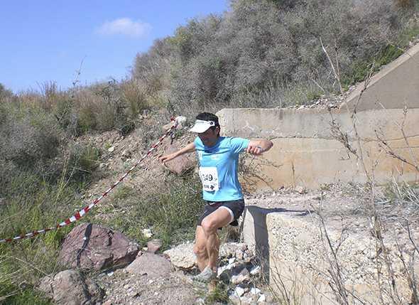 Cóndor en el II Trail de Cabo de Gata Nijar 2010