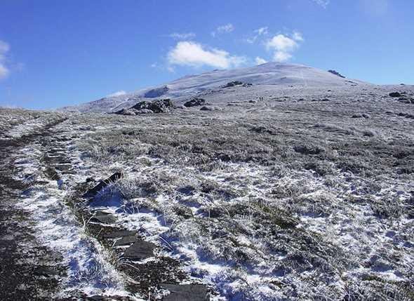 Subida al pico El Chullo 2010