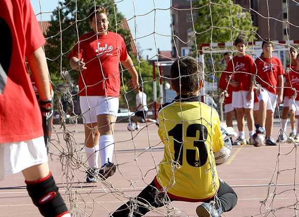 Miguel Moreno, una vida dedicada al deporte escolar