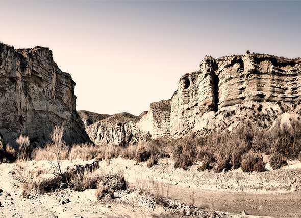 Itinerario por el desierto de Tabernas