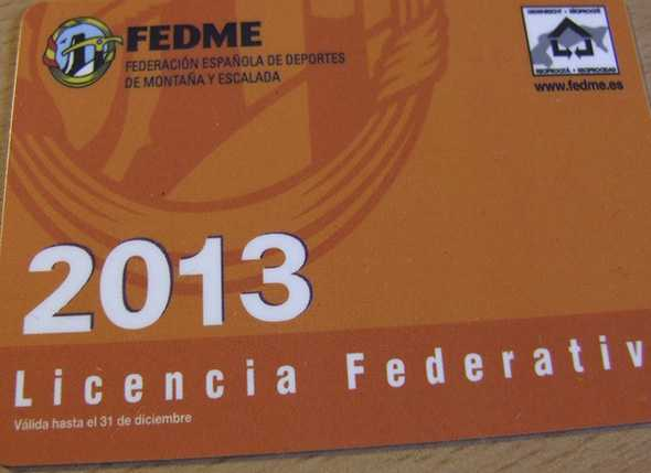 Licencias Federativas de Montañismo 2013