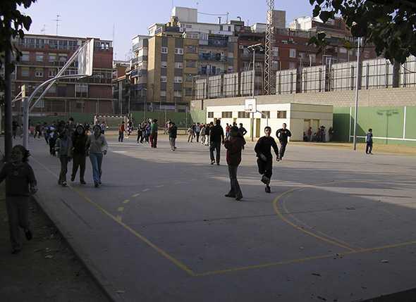Juan José Alonso, Concejal de Deportes clausura la Escuela de Montañismo 2011/2012 en el IES Galileo