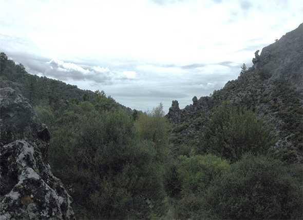 Itinerarios de Montañismo por el Parque Natural de la Sierra de Huetor