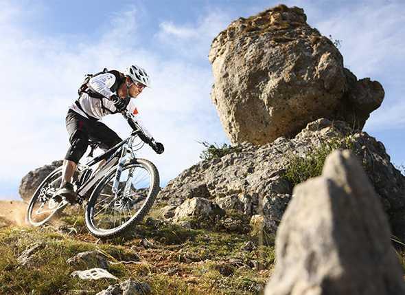 Itinerarios de bicicleta de montaña