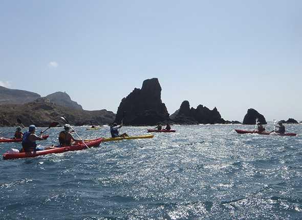 Excursión en Kayak por Cabo de Gata
