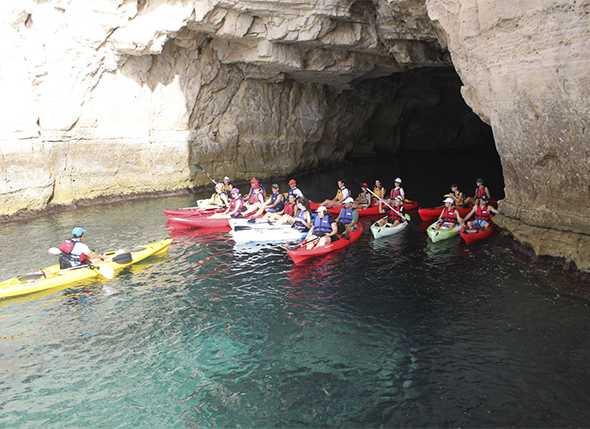 Excursión en Kayak Cabo de Gata
