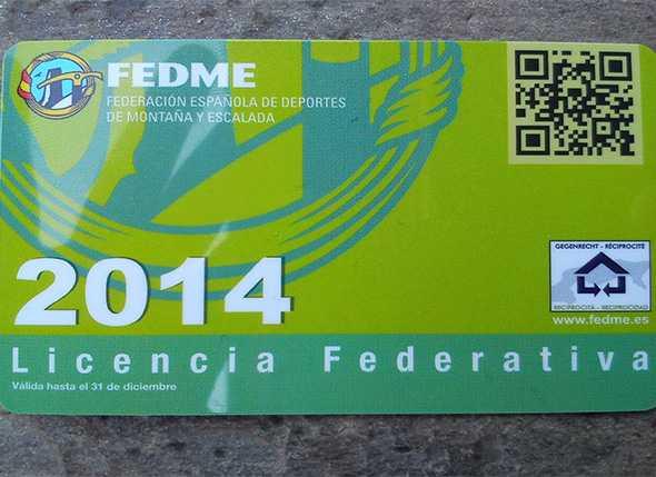 Licencias Federativas de Montañismo 2014