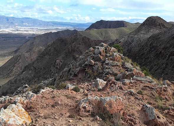 Itinerario La Fabriquilla – Cerro de La Testa (P.N. Cabo de Gata)