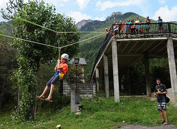VI Campamento de Montañismo Infantil y Juvenil en La Molineta