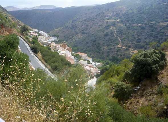 Itinerarios de Montañismo y BTT por la Sierra de Los Filbres (Molinos de Laroya-Reúl Alto)
