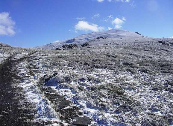 """Subida al Pico de """"El Chullo"""""""