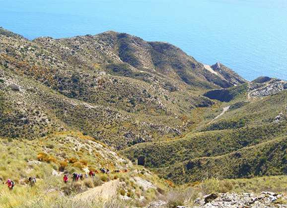 Itinerario por Sierra Almagrera