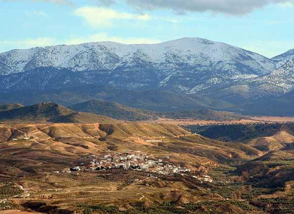 Itinerario Parque Natural Sierra de Baza