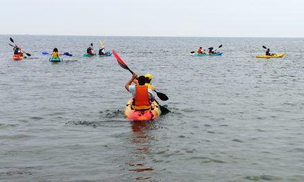 Excursión de Kayak por Cabo de Gata (Cala del Embarcadero de Los Escullos) 22-07-2017