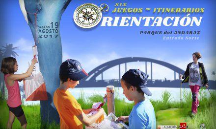XIX Juegos Itinerarios de Orientación Feria de Almería 2017 (A Pie o en Marcha Nórdica)
