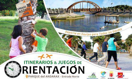XX JUEGOS-ITINERARIOS DE ORIENTACIÓN EN EL PARQUE DEL ANDARAX (SÁBADO, 18 DE AGOSTO) FERIA DE ALMERÍA 2018