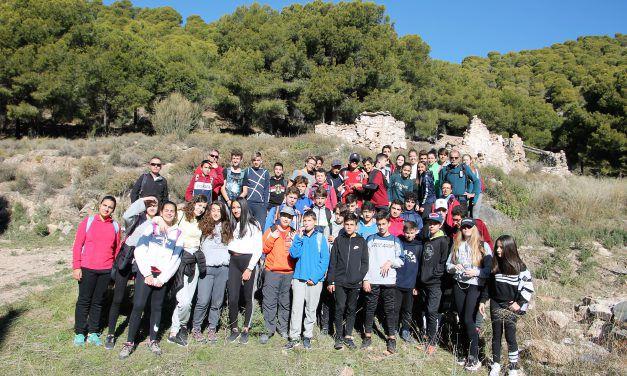 94 Alumnos del IES Maestro Padilla realizan dos Itinerarios de Montañismo por la Sierra de Gádor
