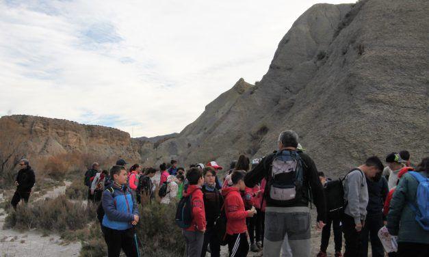 La Escuela de Montañismo en el Paraje Natural del Desierto de Tabernas