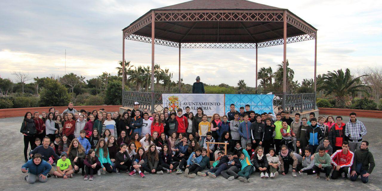 El Parque del Andarax reúne a 278 montañeros de la Escuela de Montañismo