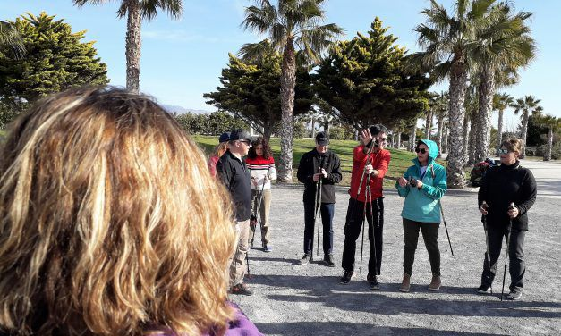 IV CURSO DE INICIACIÓN A LA MARCHA NÓRDICA. EL SÁBADO,  30 DE MARZO EN ALMERÍA