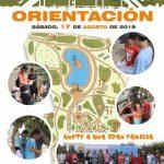 XXI JUEGOS / ITINERARIOS DE ORIENTACIÓN FERIA DE ALMERÍA 2019 (A Pie y Marcha Nórdica) Sábado, 17 de Agosto